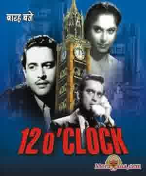 Poster of 12 O'clock (1958) - (Hindi Film)