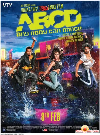 Poster of ABCD (Any Body Can Dance) (2013) - (Hindi Film)