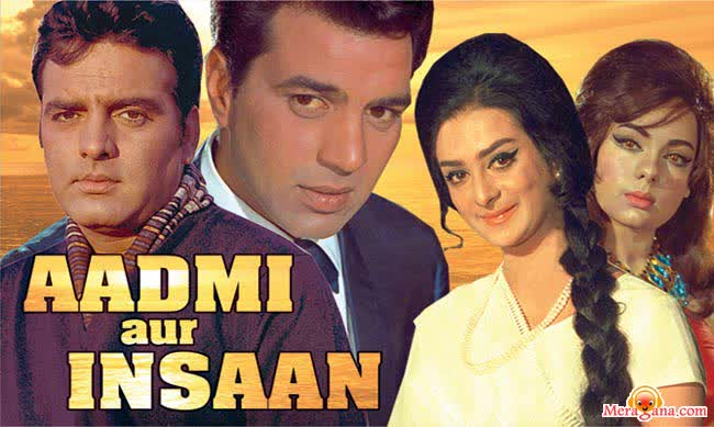 Poster of Aadmi Aur Insaan (1969) - (Hindi Film)
