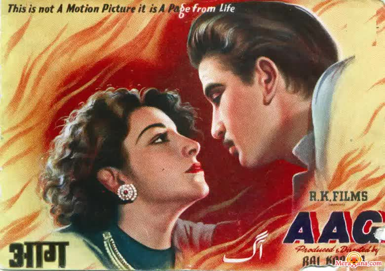 Poster of Aag (1948)