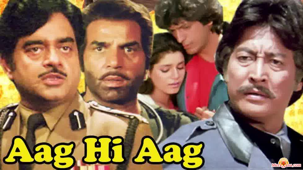 Poster of Aag Hi Aag (1987)