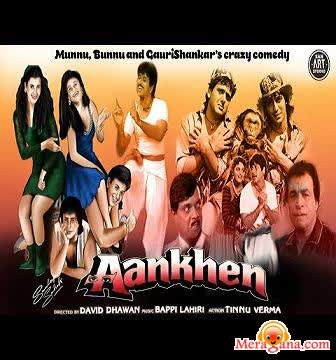 Poster of Aankhen (1993) - (Hindi Film)