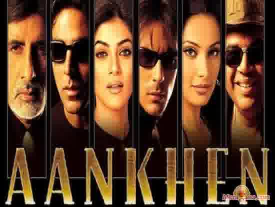 Poster of Aankhen (2002)