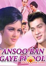 Poster of Aansoo+Ban+Gaye+Phool+(1969)+-+(Hindi+Film)