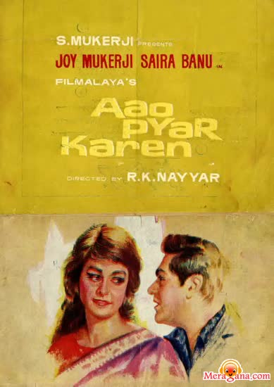 Poster of Aao Pyar Karen (1964) - (Hindi Film)