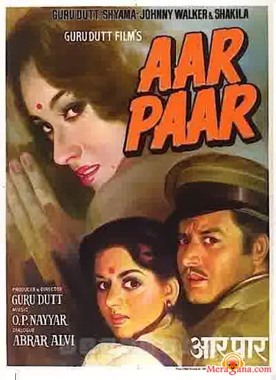 Poster of Aar Paar (1954) - (Hindi Film)