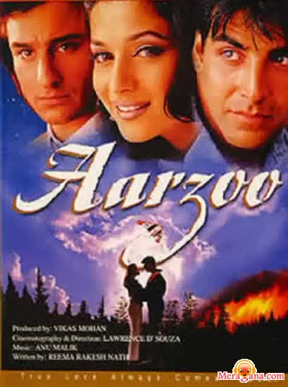 Poster of Aarzoo (1999) - (Hindi Film)