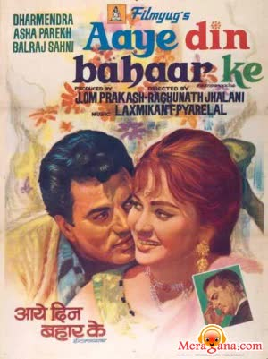 Poster of Aaye Din Bahar Ke (1966) - (Hindi Film)