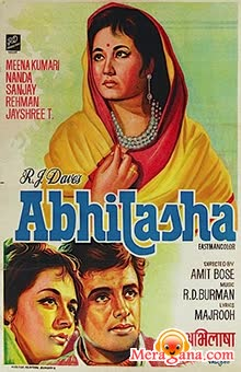 Poster of Abhilasha (1968) - (Hindi Film)
