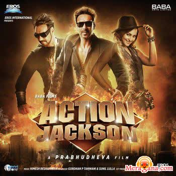 Poster of Action Jackson (2014) - (Hindi Film)