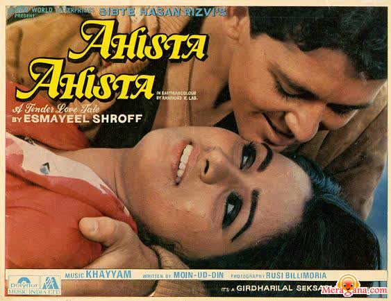 Poster of Ahista Ahista (1981) - (Hindi Film)