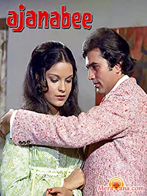 Poster of Ajanabee (1974) - (Hindi Film)