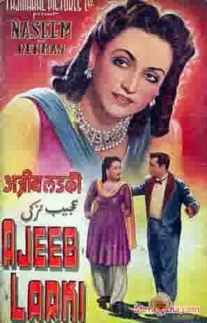 Poster of Ajeeb Ladki (1952) - (Hindi Film)