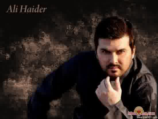 Poster of Ali Haider - (Indipop)