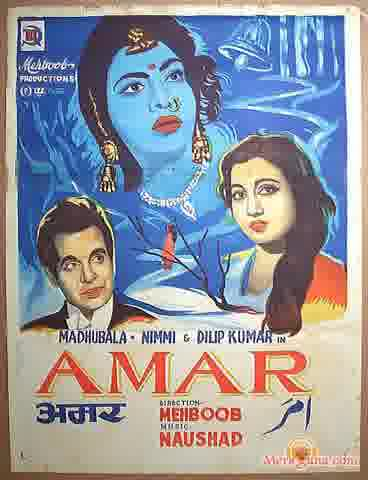 Poster of Amar (1954) - (Hindi Film)