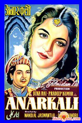 Poster of Anarkali (1953) - (Hindi Film)