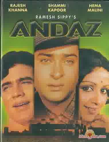 Poster of Andaz (1971) - (Hindi Film)