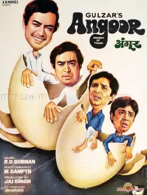 Poster of Angoor (1982) - (Hindi Film)