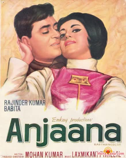 Poster of Anjaana+(1969)+-+(Hindi+Film)