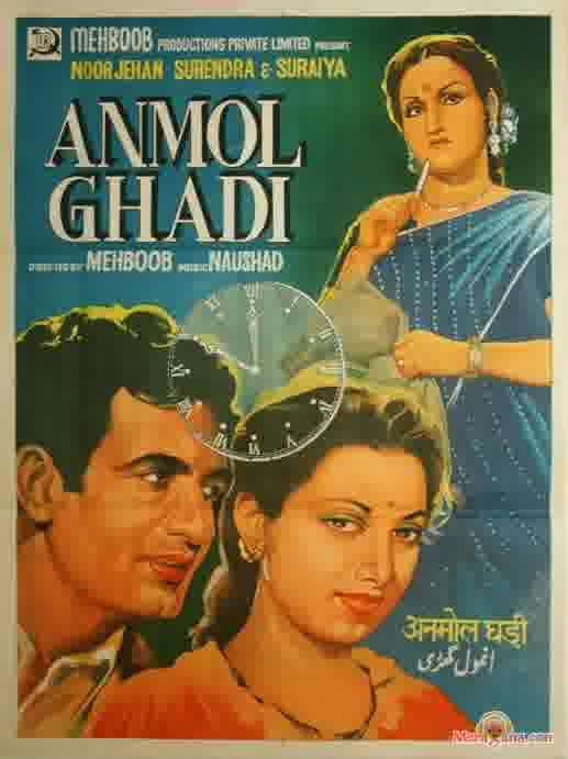 Poster of Anmol Ghadi (1946) - (Hindi Film)