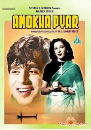 Poster of Anokha Pyar (1948) - (Hindi Film)