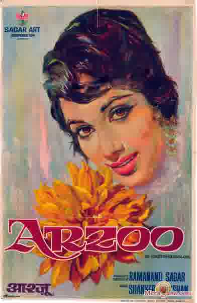 Poster of Arzoo (1965) - (Hindi Film)