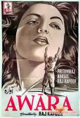Poster of Awara (1951) - (Hindi Film)