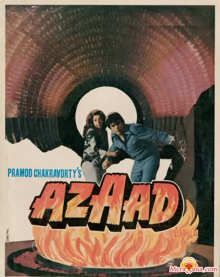 Poster of Azaad (1978) - (Hindi Film)
