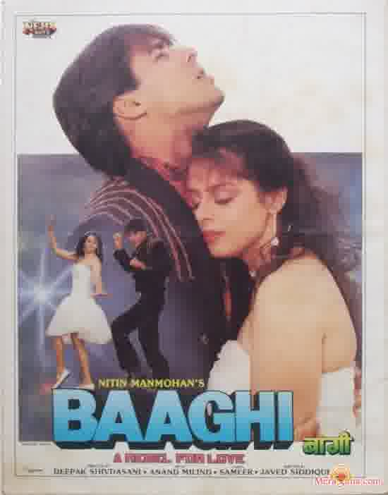 Poster of Baaghi (1990) - (Hindi Film)