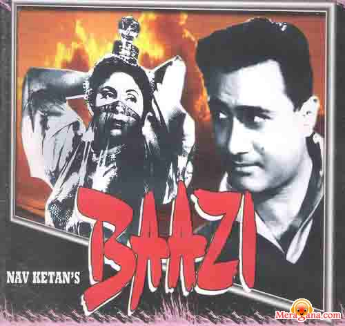 Poster of Baazi (1951) - (Hindi Film)