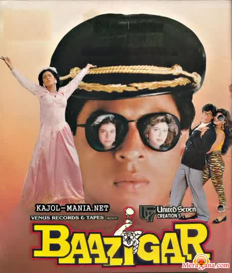 Poster of Baazigar (1993) - (Hindi Film)
