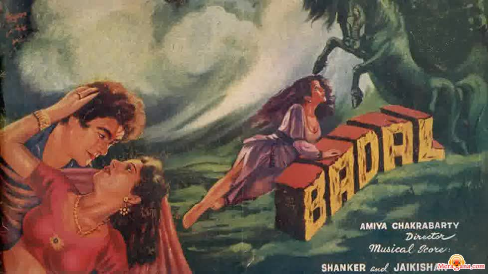 Poster of Badal (1951) - (Hindi Film)
