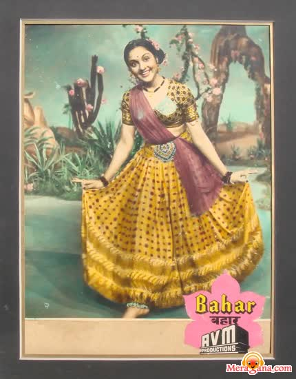 Poster of Bahar (1951) - (Hindi Film)