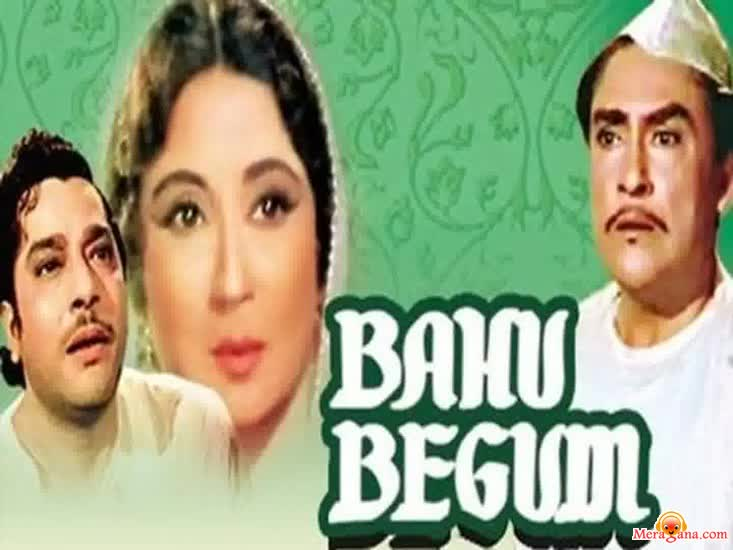 Poster of Bahu Begum (1967)