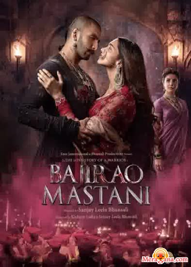 Poster of Bajirao+Mastani+(2015)+-+(Hindi+Film)
