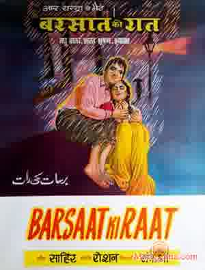 Poster of Barsaat Ki Raat (1960) - (Hindi Film)
