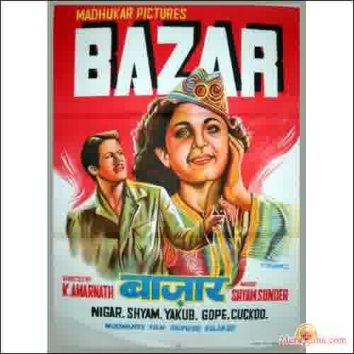Poster of Bazar (1949) - (Hindi Film)