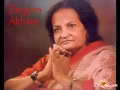 Poster of Begum Akhtar