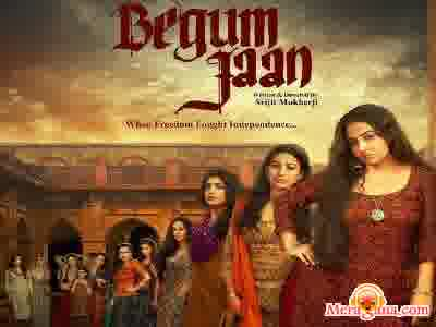 Poster of Begum Jaan (2017)
