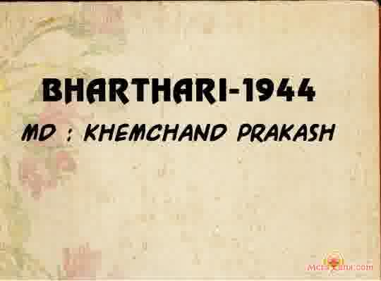 Poster of Bharthari (1944) - (Hindi Film)