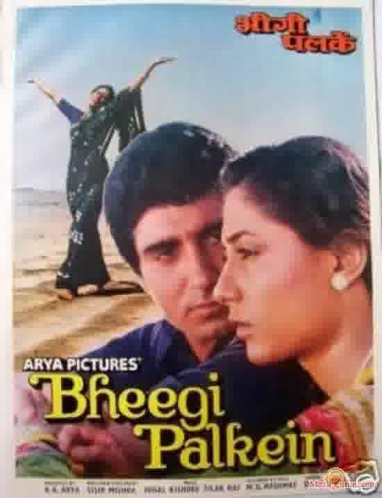 Poster of Bheegi Palkein (1982) - (Hindi Film)