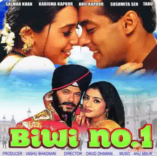 Poster of Biwi+No+1+(1999)+-+(Hindi+Film)