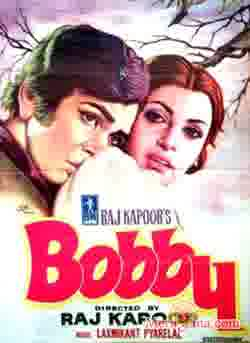 Poster of Bobby (1973) - (Hindi Film)