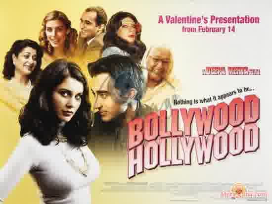 Poster of Bollywood Hollywood (2002)