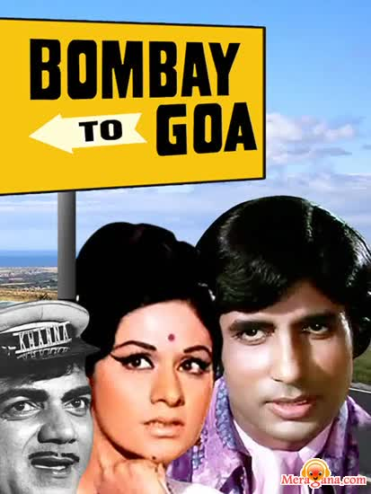 Poster of Bombay To Goa (1972) - (Hindi Film)