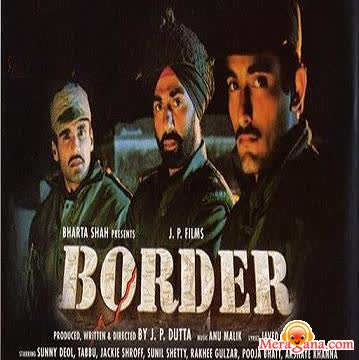 Poster of Border (1997) - (Hindi Film)