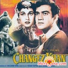 Poster of Changez Khan (1957) - (Hindi Film)