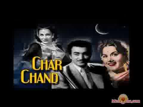 Poster of Char Chand (1953) - (Hindi Film)