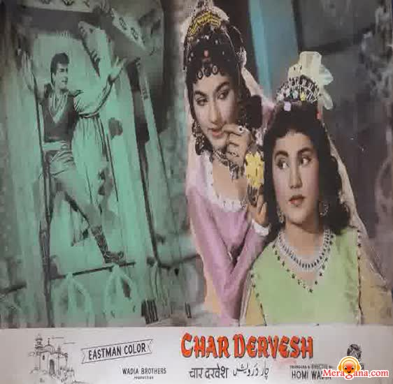 Poster of Char+Dervesh+(1964)+-+(Hindi+Film)