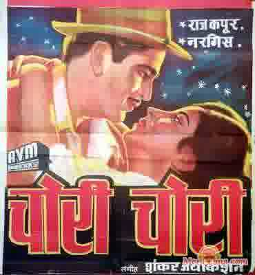Poster of Chori Chori (1956) - (Hindi Film)